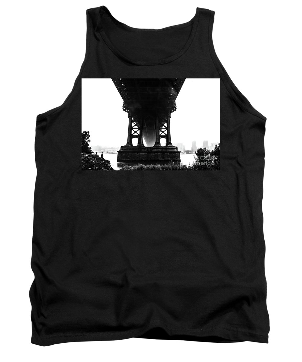 New York Tank Top featuring the photograph Footprint by Matthew DeFrenza
