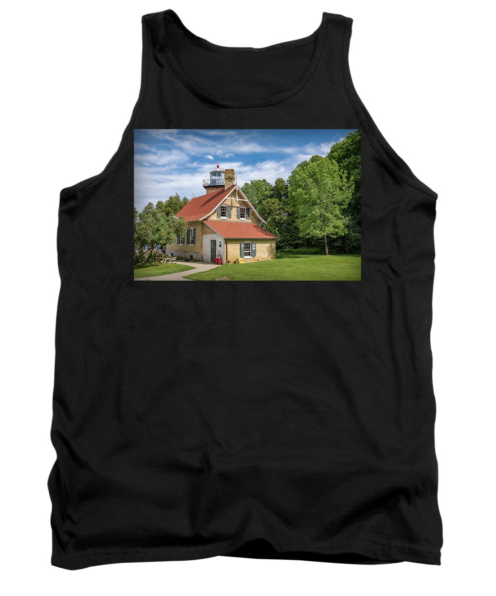 Lighthouse Tank Top featuring the photograph 20-0608-0070 by Anthony Roma