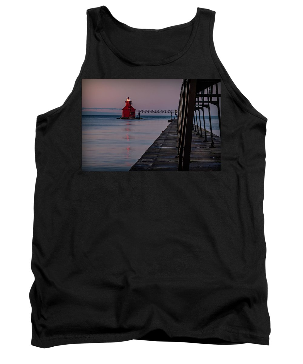 Lighthouse Tank Top featuring the photograph 20-0611-0313 by Anthony Roma