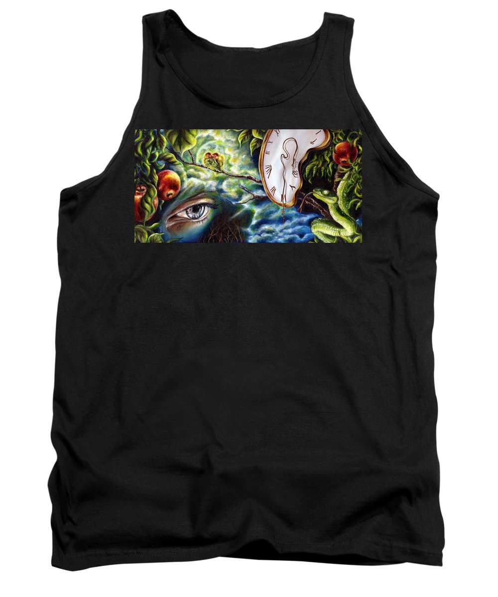 Love Tank Top featuring the painting Lovers by Hiroko Sakai