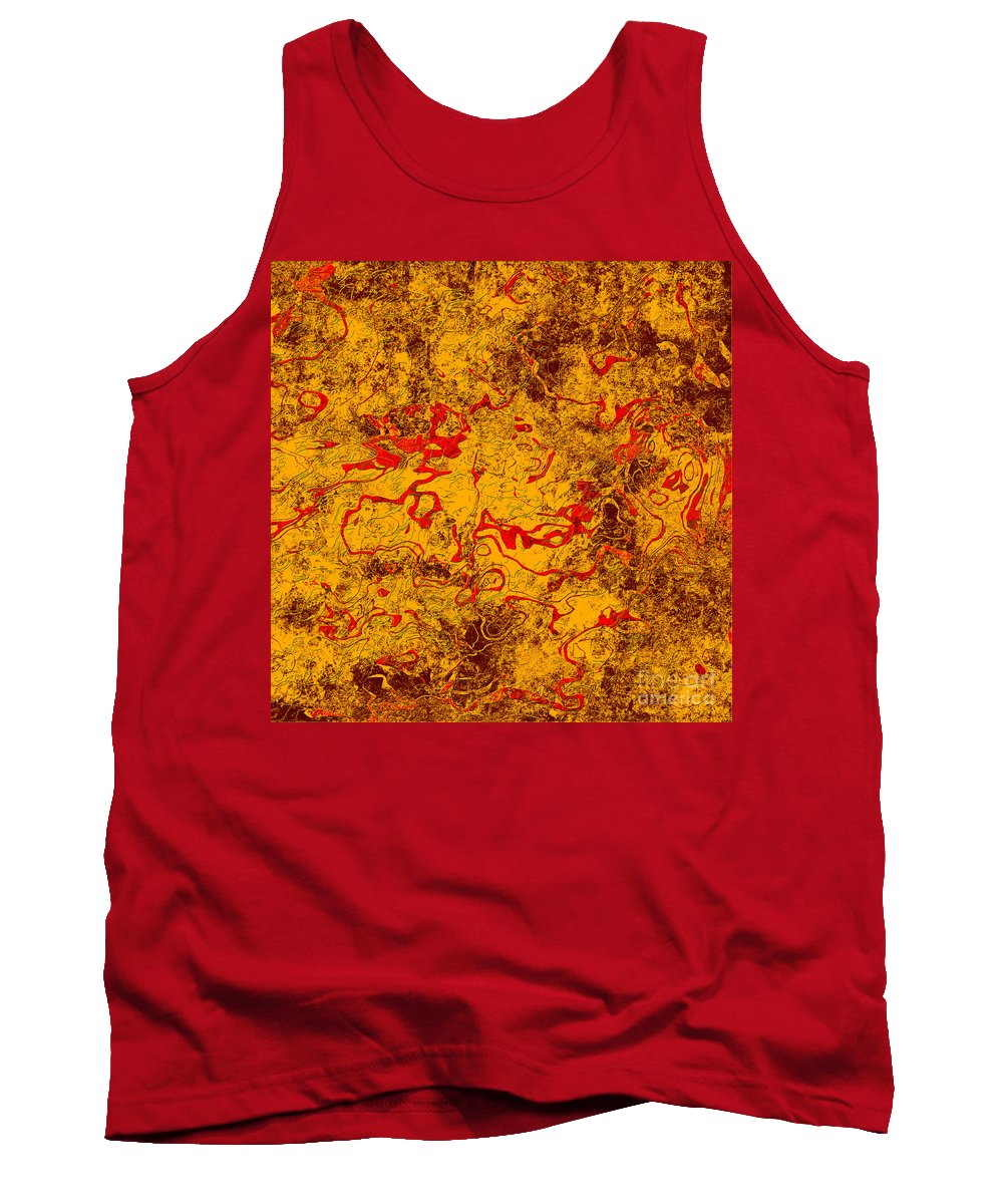 Abstract Tank Top featuring the digital art 0503 Abstract Thought by Chowdary V Arikatla