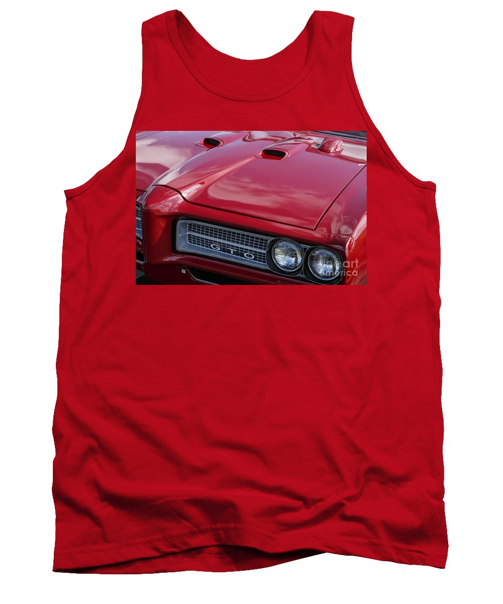 1968 Pontiac Gto Tank Top featuring the photograph 1968 Gto by Dennis Hedberg