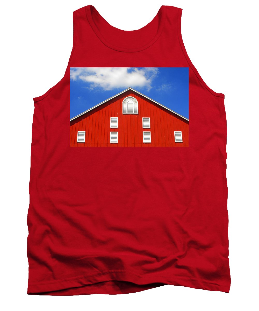 Gettysburg Battlefield Tank Top featuring the photograph Big Red by Paul W Faust - Impressions of Light