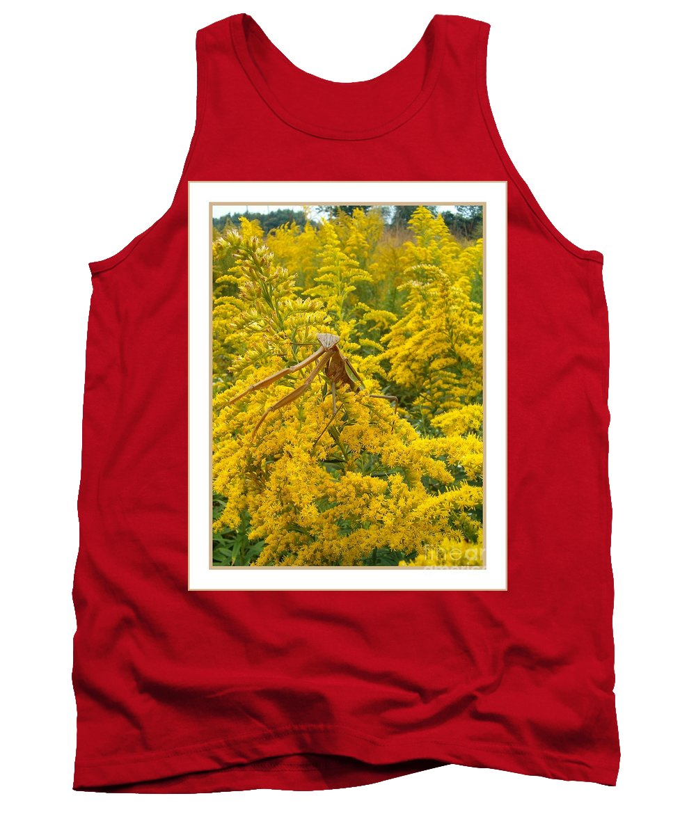 Praying Tank Top featuring the photograph Blending In by Sara Raber