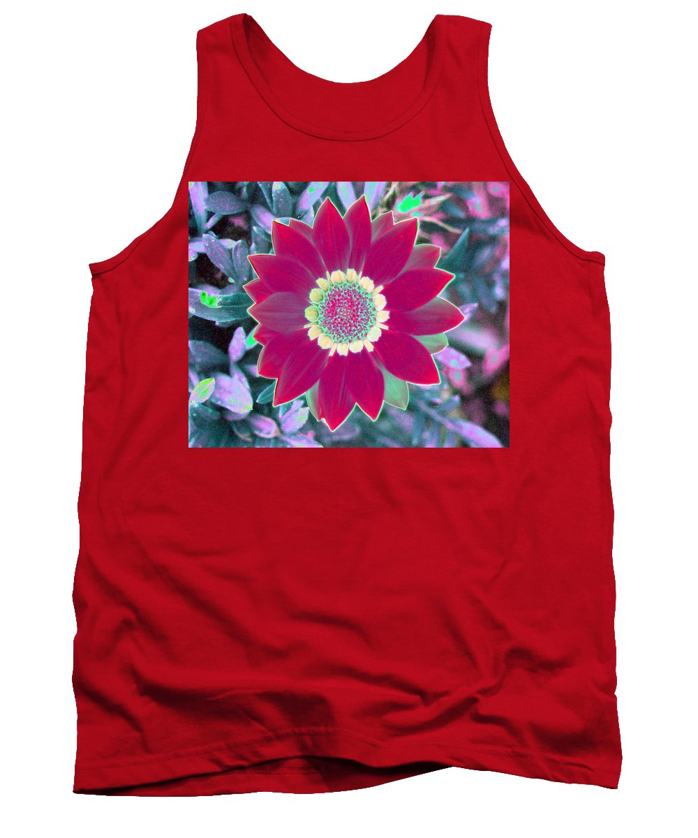Flower Tank Top featuring the photograph Flower Power 1445 by Pamela Critchlow