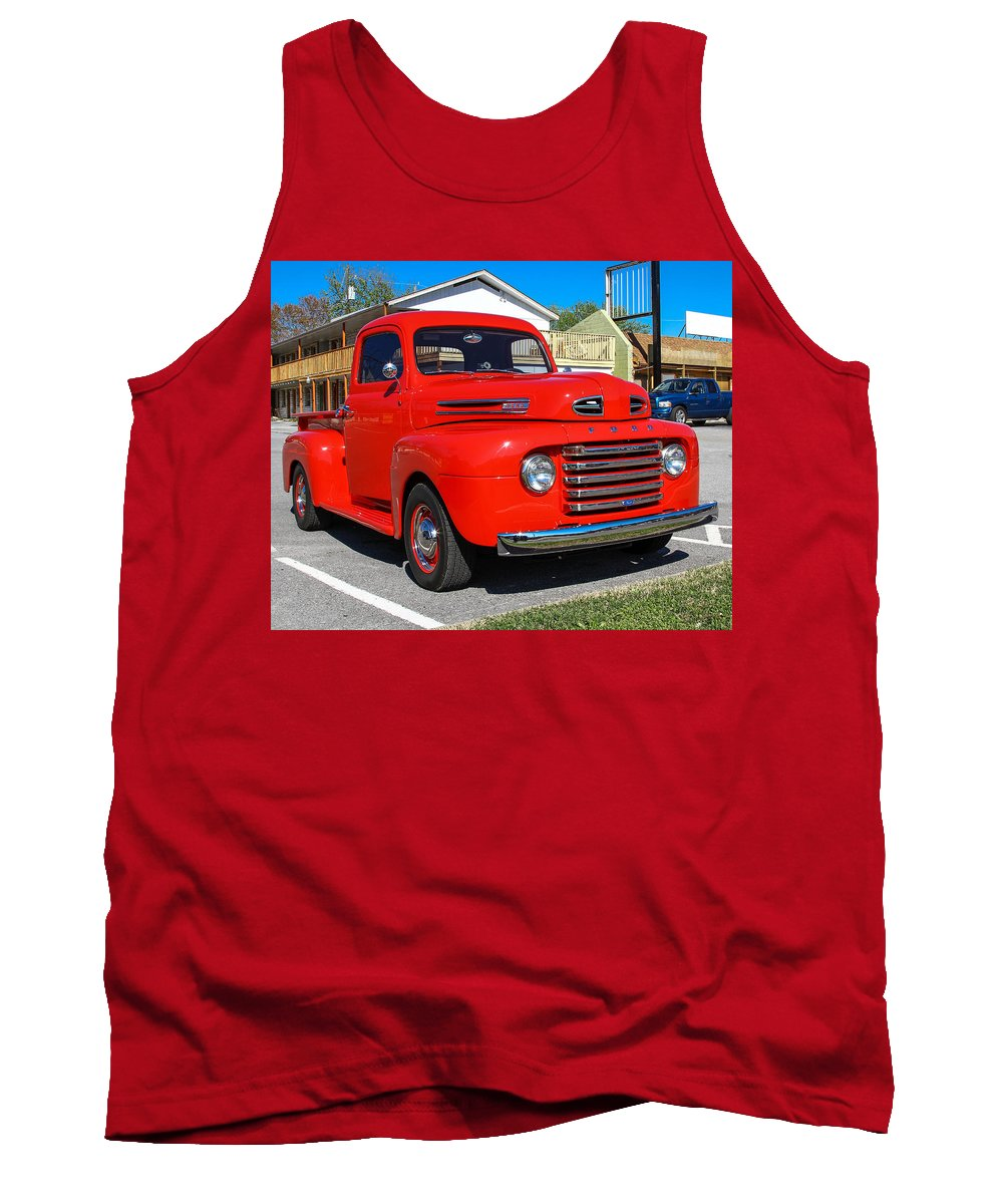 Truck Tank Top featuring the photograph Ford Truck by Robert L Jackson
