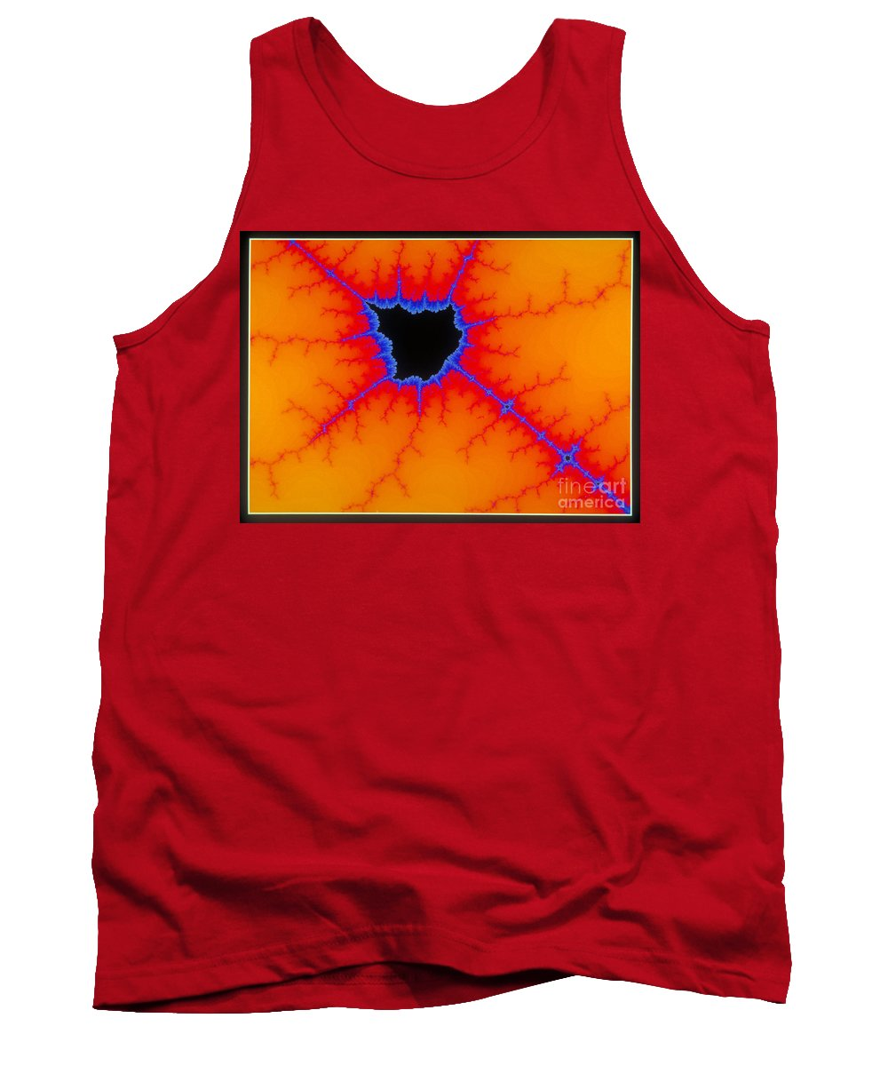 Science Tank Top featuring the photograph Mandelbrot Set by Scott Camazine