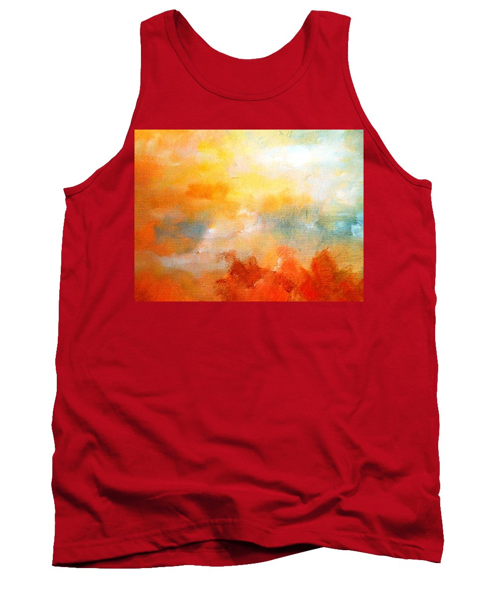Paintings By Lyle Tank Top featuring the painting The Hidden by Lord Frederick Lyle Morris