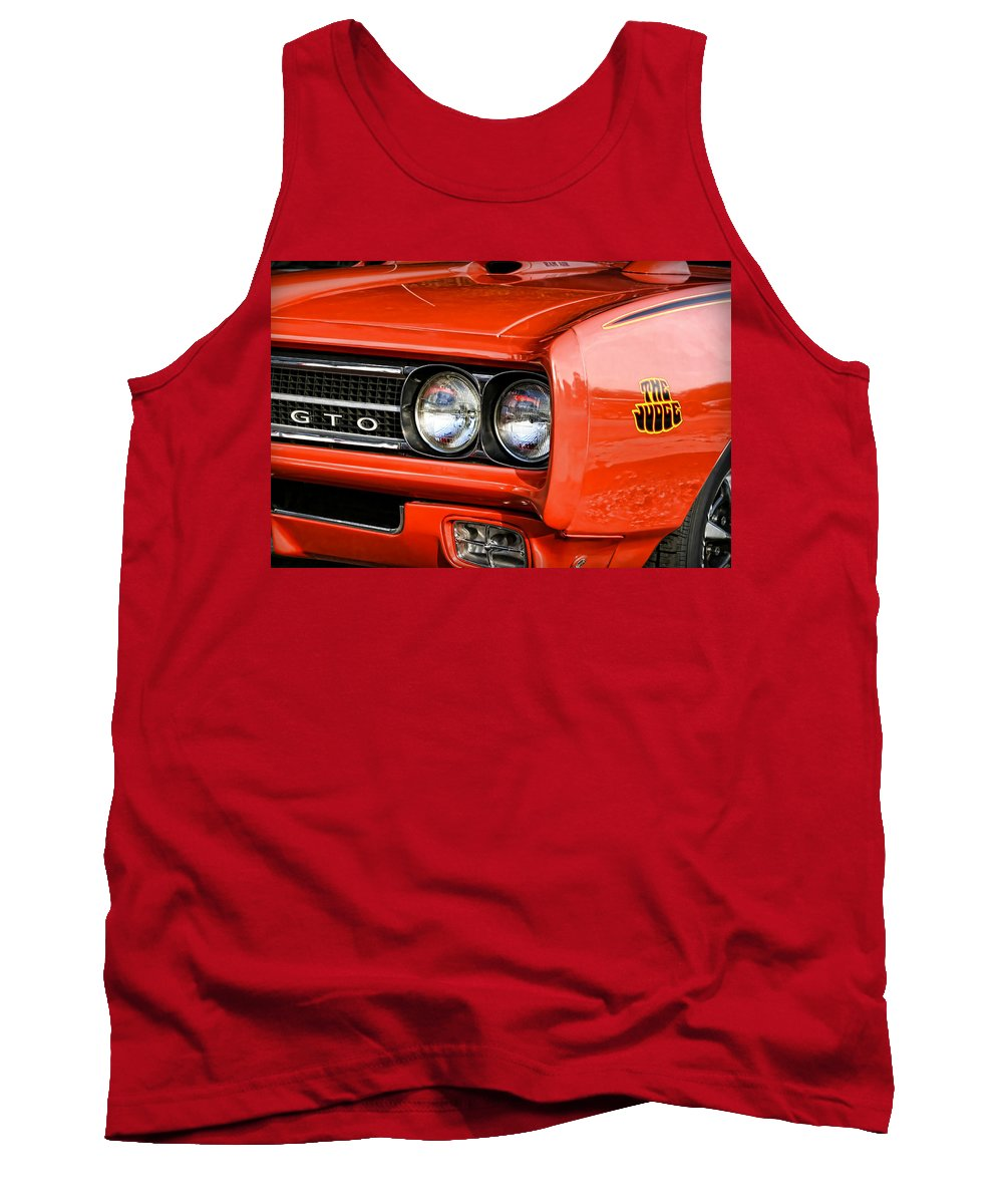 Gran Tank Top featuring the photograph 1969 Pontiac Gto The Judge by Gordon Dean II