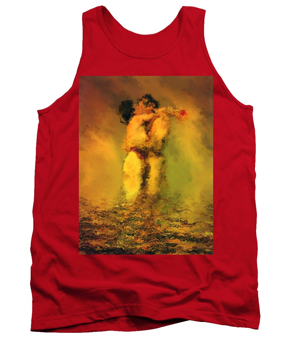 Nudes Tank Top featuring the photograph Lovers by Kurt Van Wagner