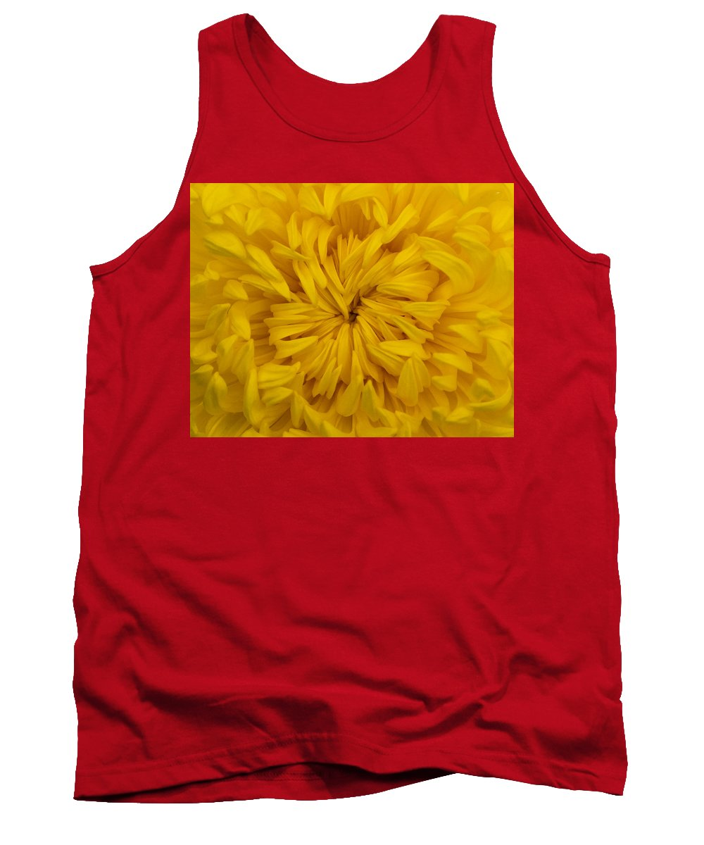 Yellow Tank Top featuring the photograph Sun Burst by Dennis Reagan