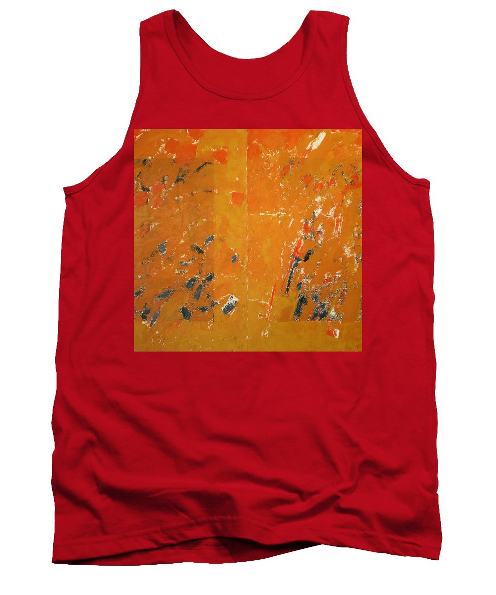 Gustav Mahler Tank Top featuring the painting Symphony No. 8 Movement 16 Vladimir Vlahovic- Images Inspired By The Music Of Gustav Mahler by Vladimir Vlahovic