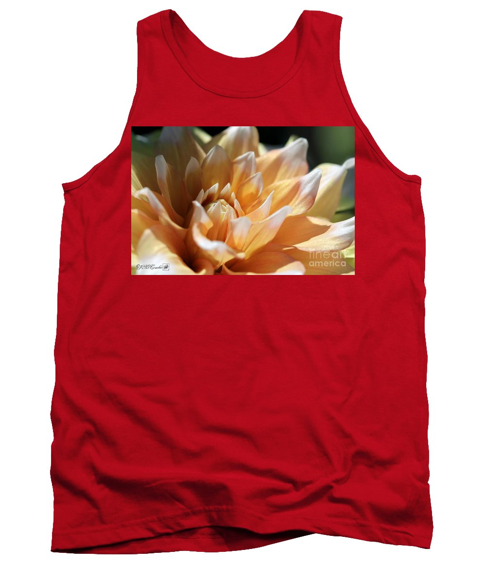Mccombie Tank Top featuring the photograph Dahlia Named Seattle by J McCombie