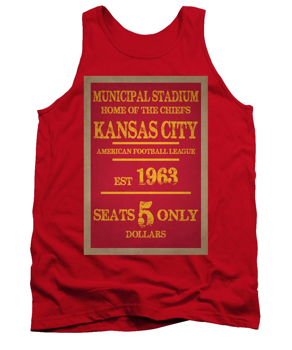 Chiefs Tank Top featuring the photograph Kansas City Chiefs by Joe Hamilton
