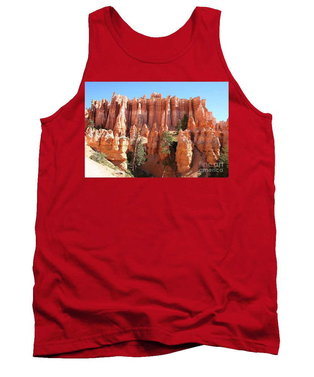Canyon Tank Top featuring the photograph Bryce Canyon by Christiane Schulze Art And Photography