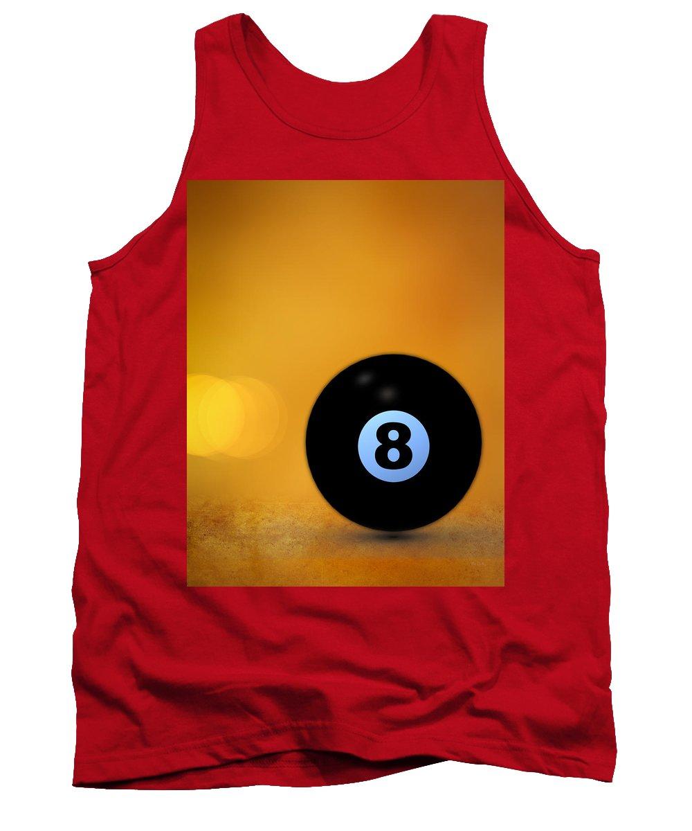 8 Ball Tank Top featuring the photograph 8 Ball by Bob Orsillo