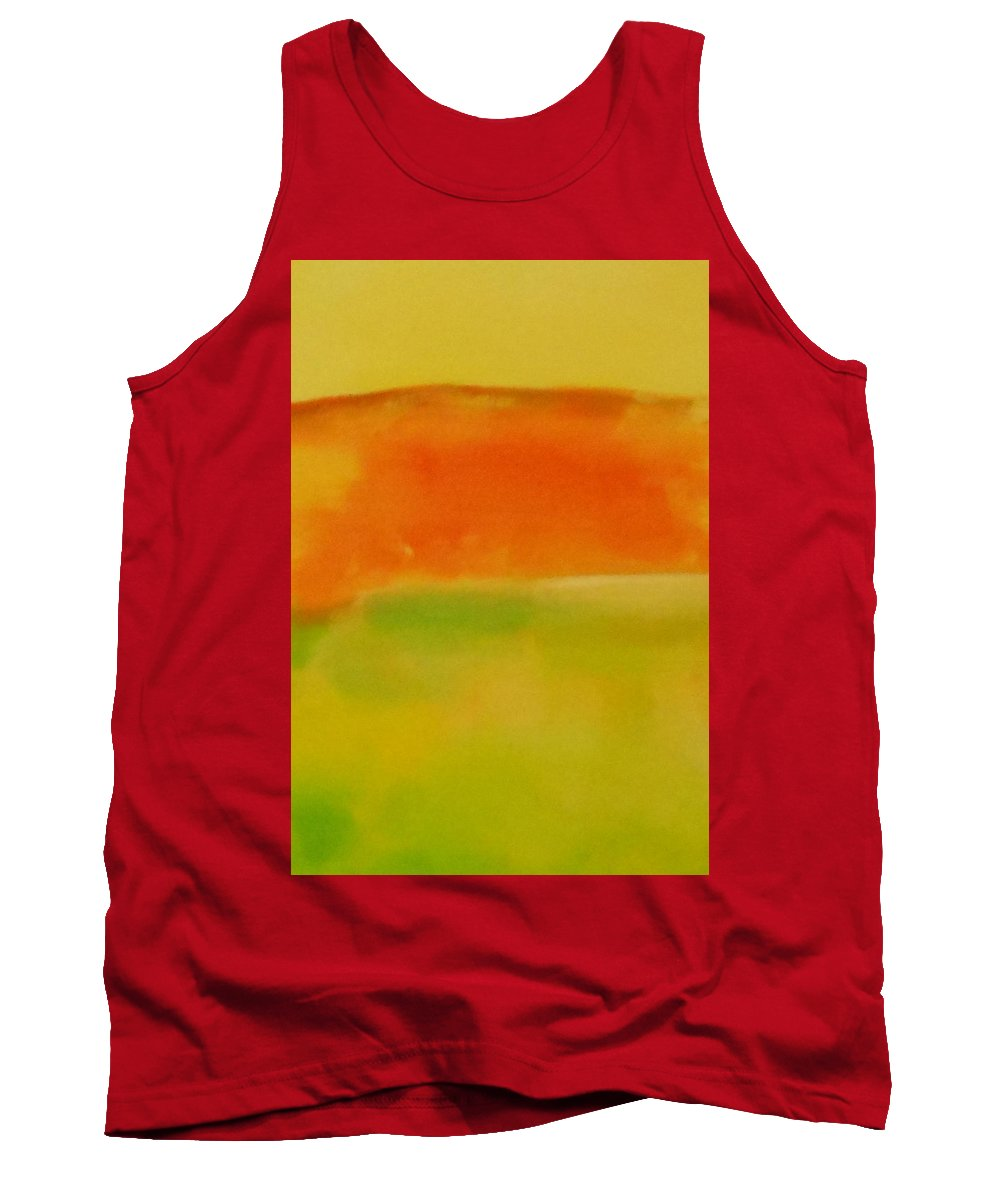 Abstract Tank Top featuring the painting Landscape by Lord Frederick Lyle Morris