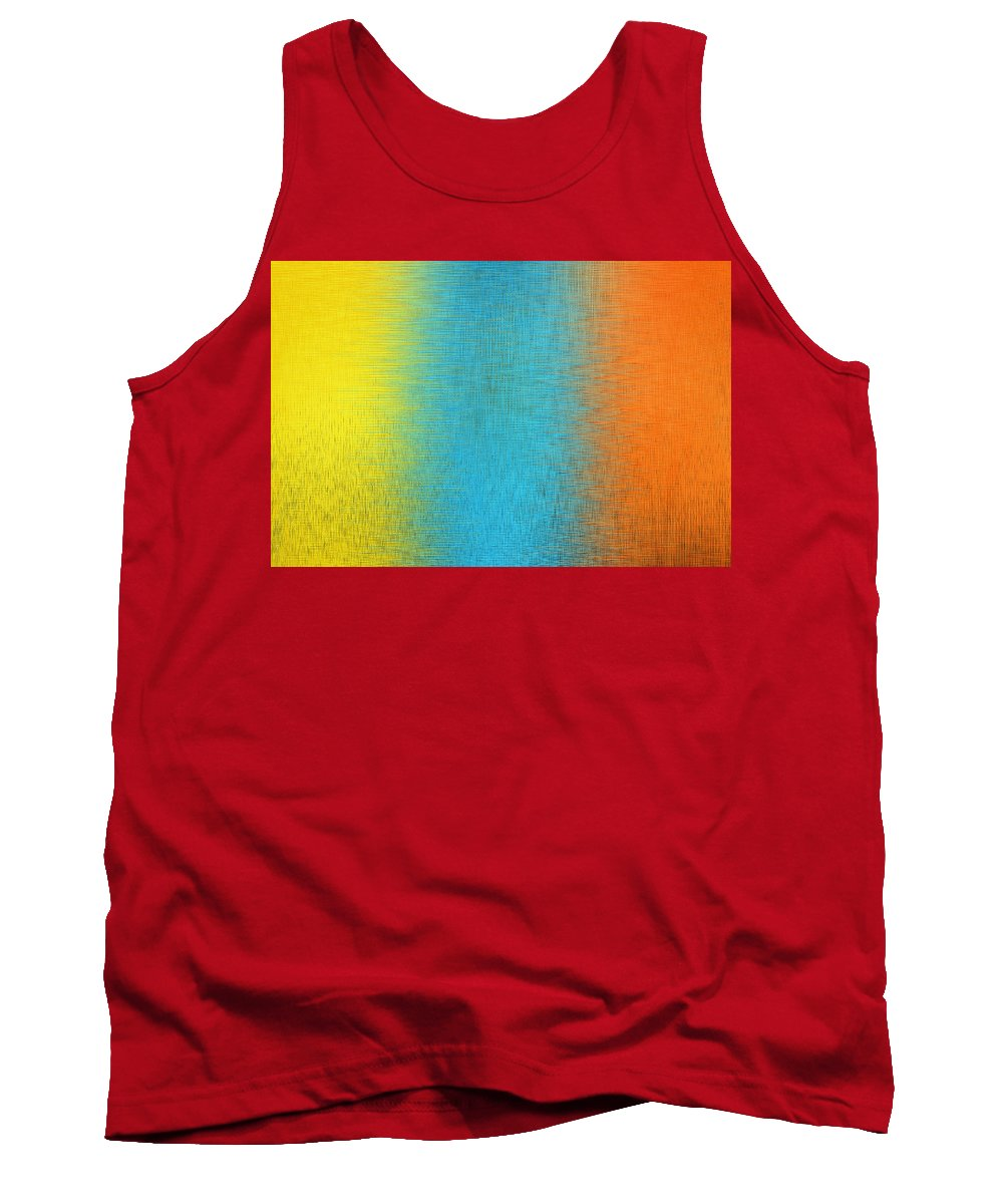 Art Tank Top featuring the digital art Abstract By Photoshop 8 by Allen Beatty