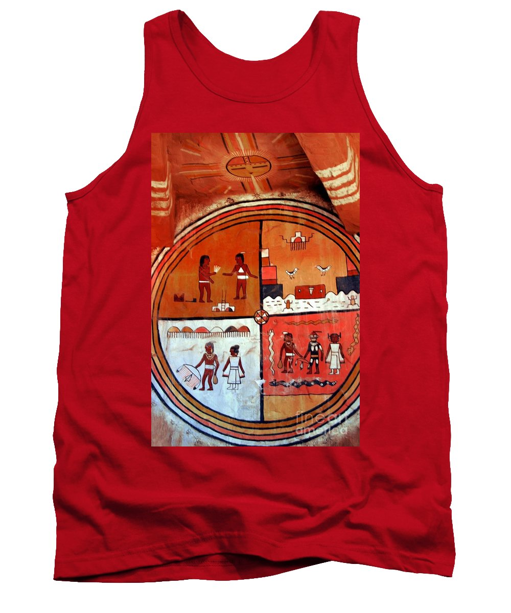 Ancient Tank Top featuring the photograph Ancient Drawings by Kathleen Struckle