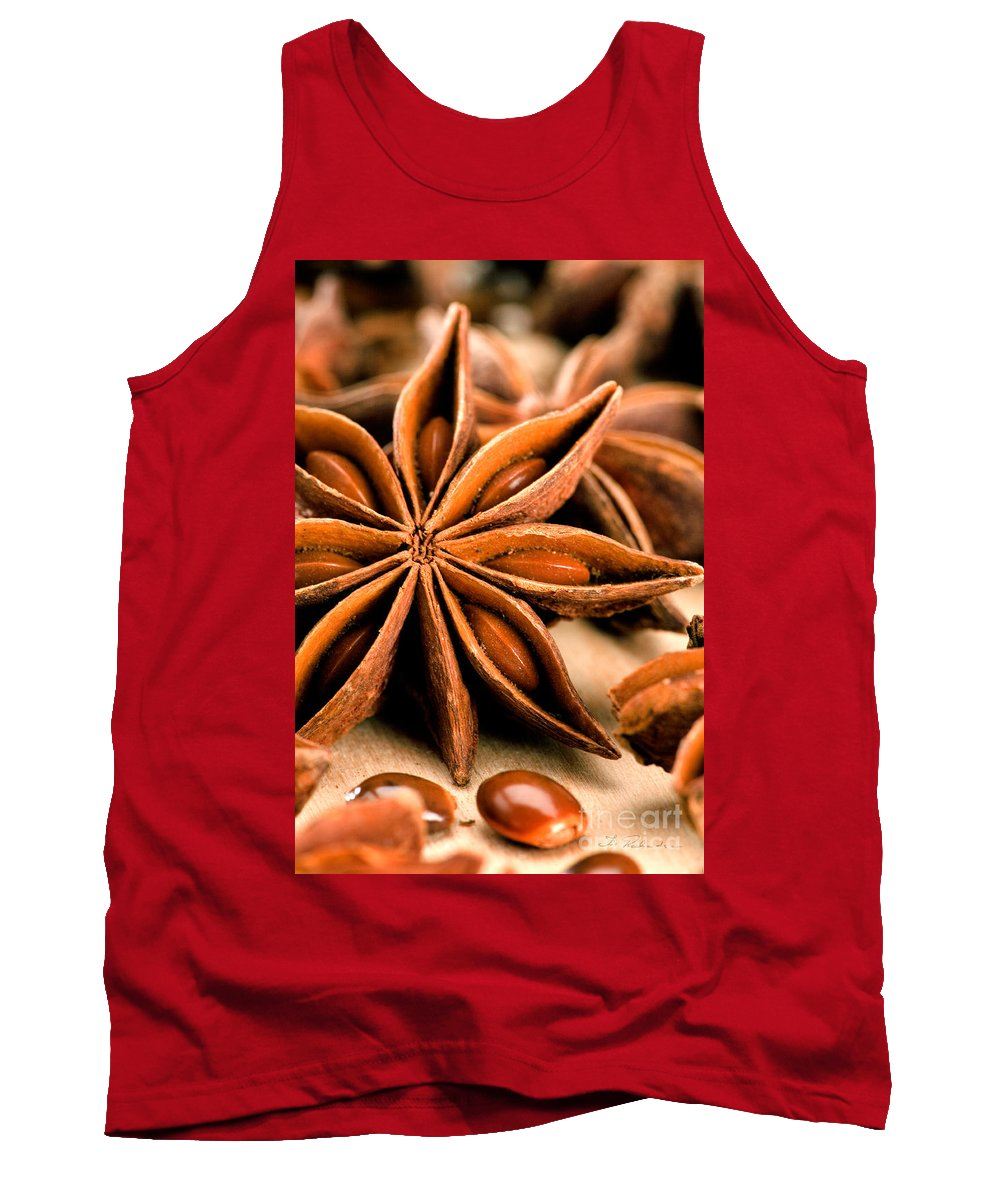 Anis Star Tank Top featuring the photograph Anis Star by Iris Richardson