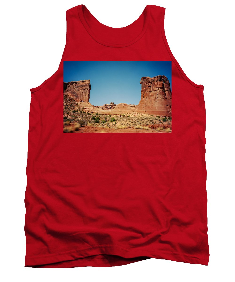 Utah Tank Top featuring the photograph Arches Np II by Stacy Abbott