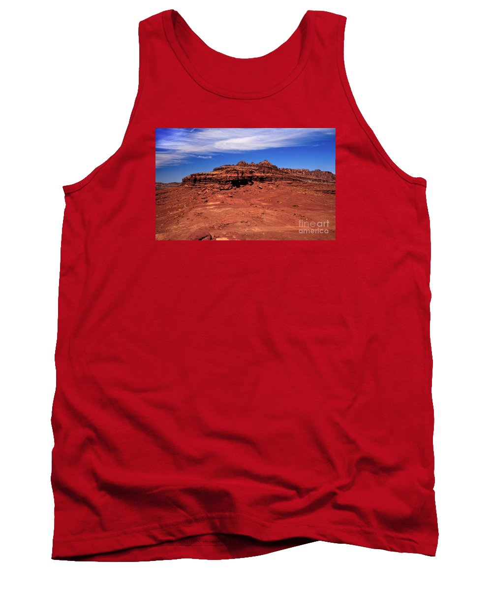 Landscape Tank Top featuring the photograph At The Top by Robert Bales
