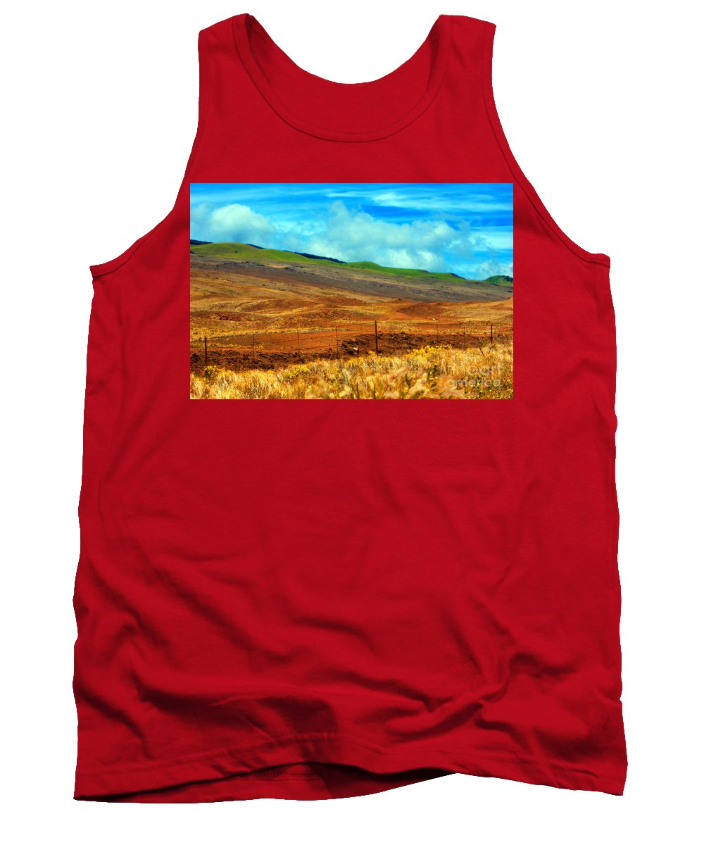 Barbed Wire Tank Top featuring the photograph Barbed Wire Fence by Paulette B Wright