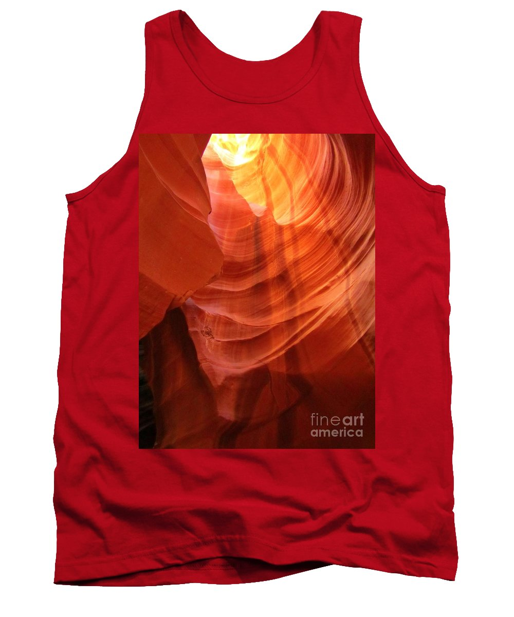 Beautiful Sandstone Tank Top featuring the photograph Beautiful Sandstone by John Malone