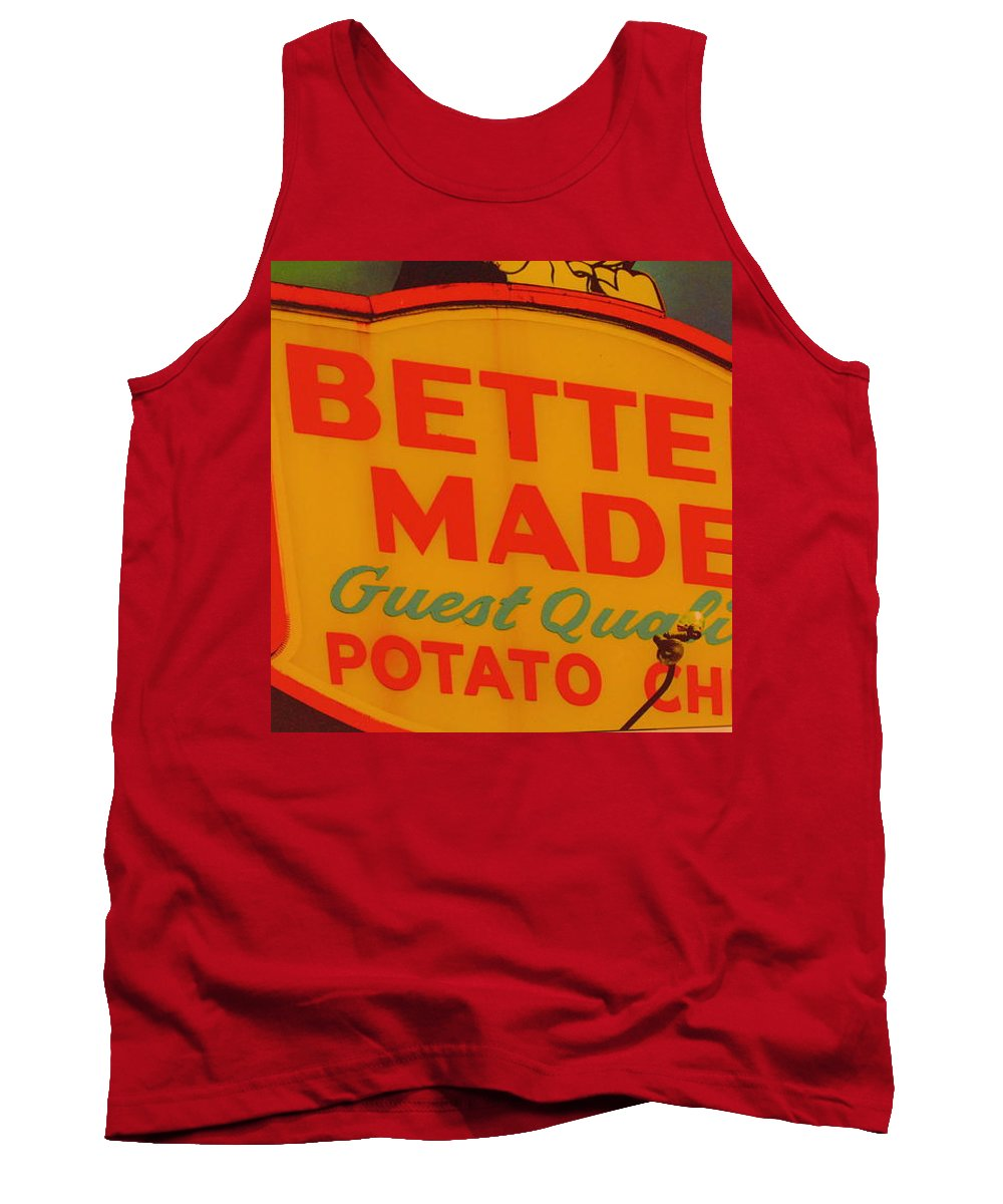 Better Made Tank Top featuring the photograph Better Made by Dotti Hannum