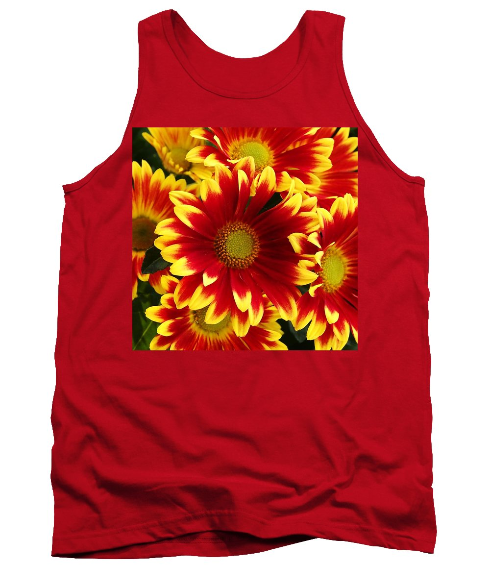 Flowers Tank Top featuring the photograph Bold by David Pantuso