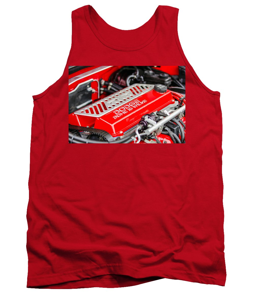 Dodge Tank Top featuring the photograph Car Show 025 by Josh Bryant