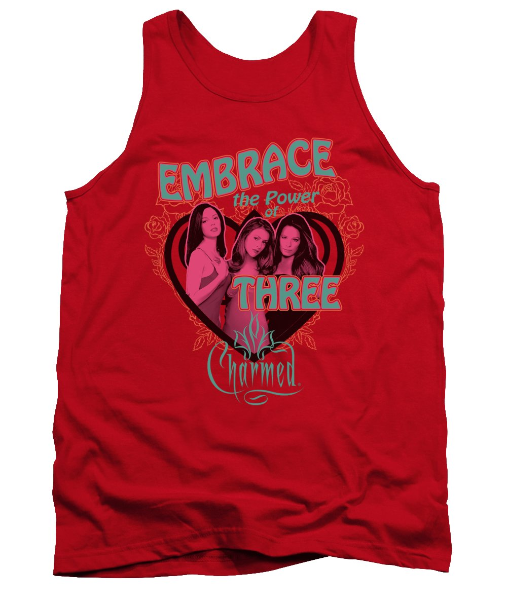 Charmed Tank Top featuring the digital art Charmed - Embrace The Power by Brand A