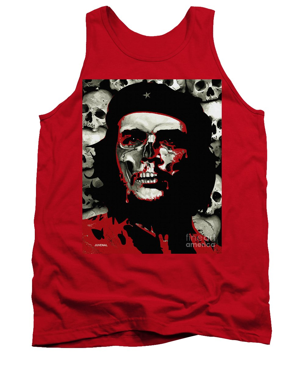 Canvas Prints Tank Top featuring the digital art Che by Joseph Juvenal