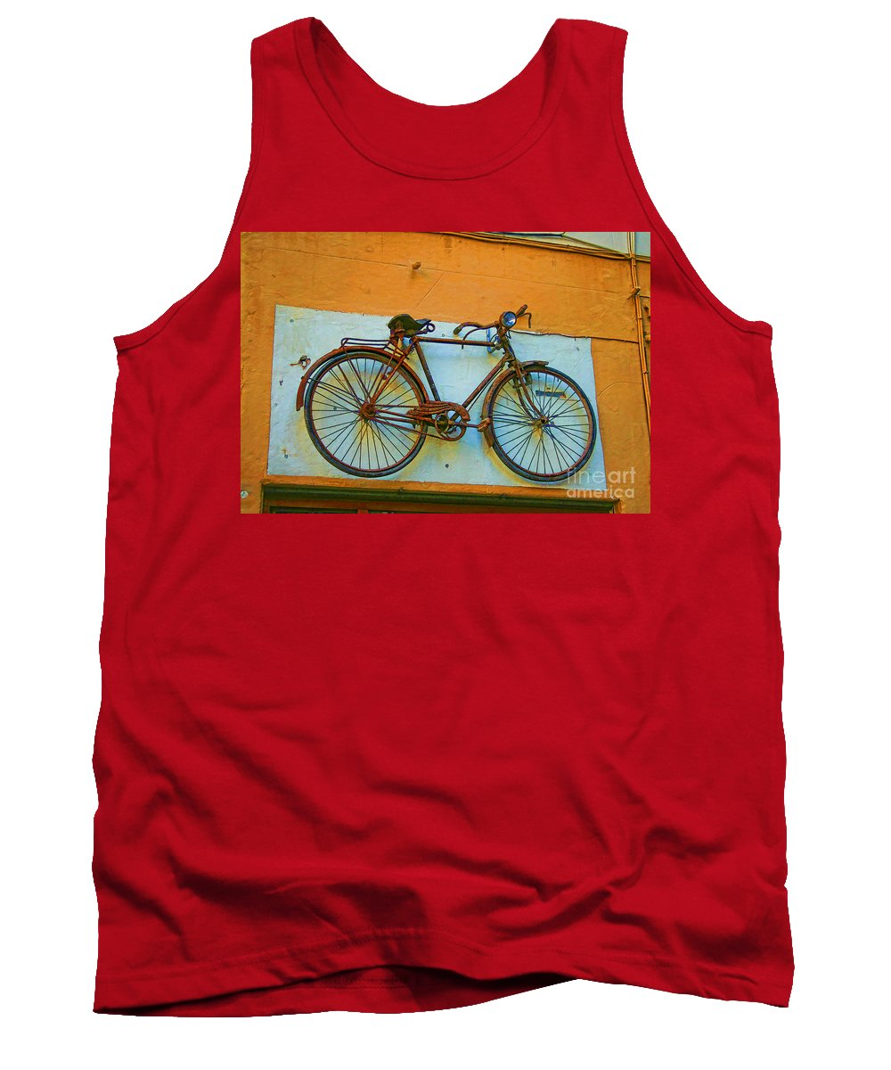 Clamped Tank Top featuring the photograph Clamped by Gillian Singleton