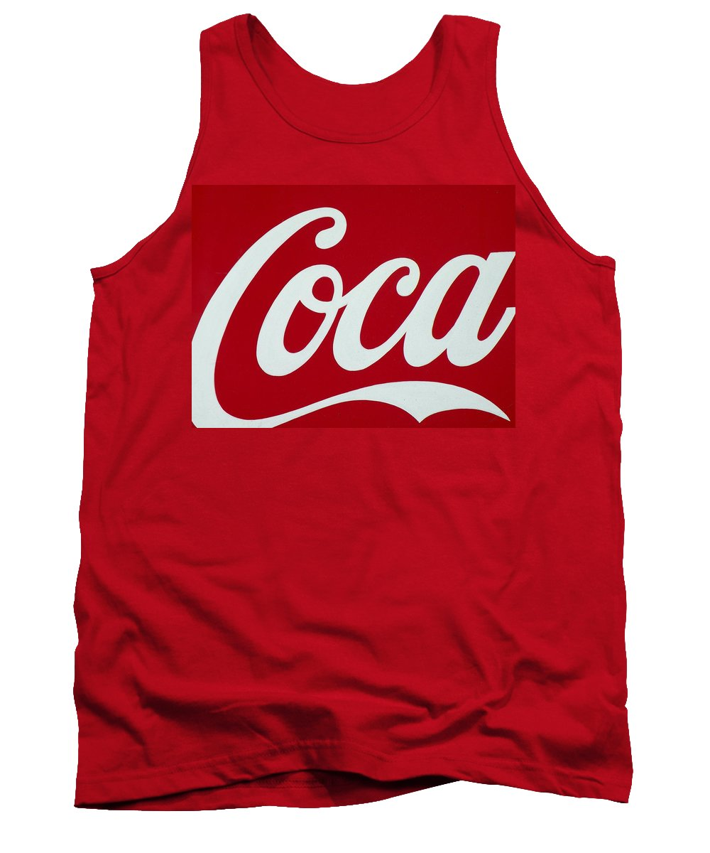 Coca Tank Top featuring the photograph Coca by M Pace