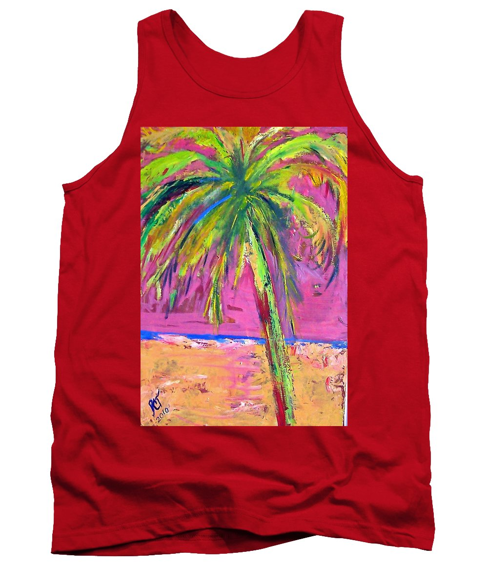 Florida Tank Top featuring the painting Come Away With Me by Patricia Taylor