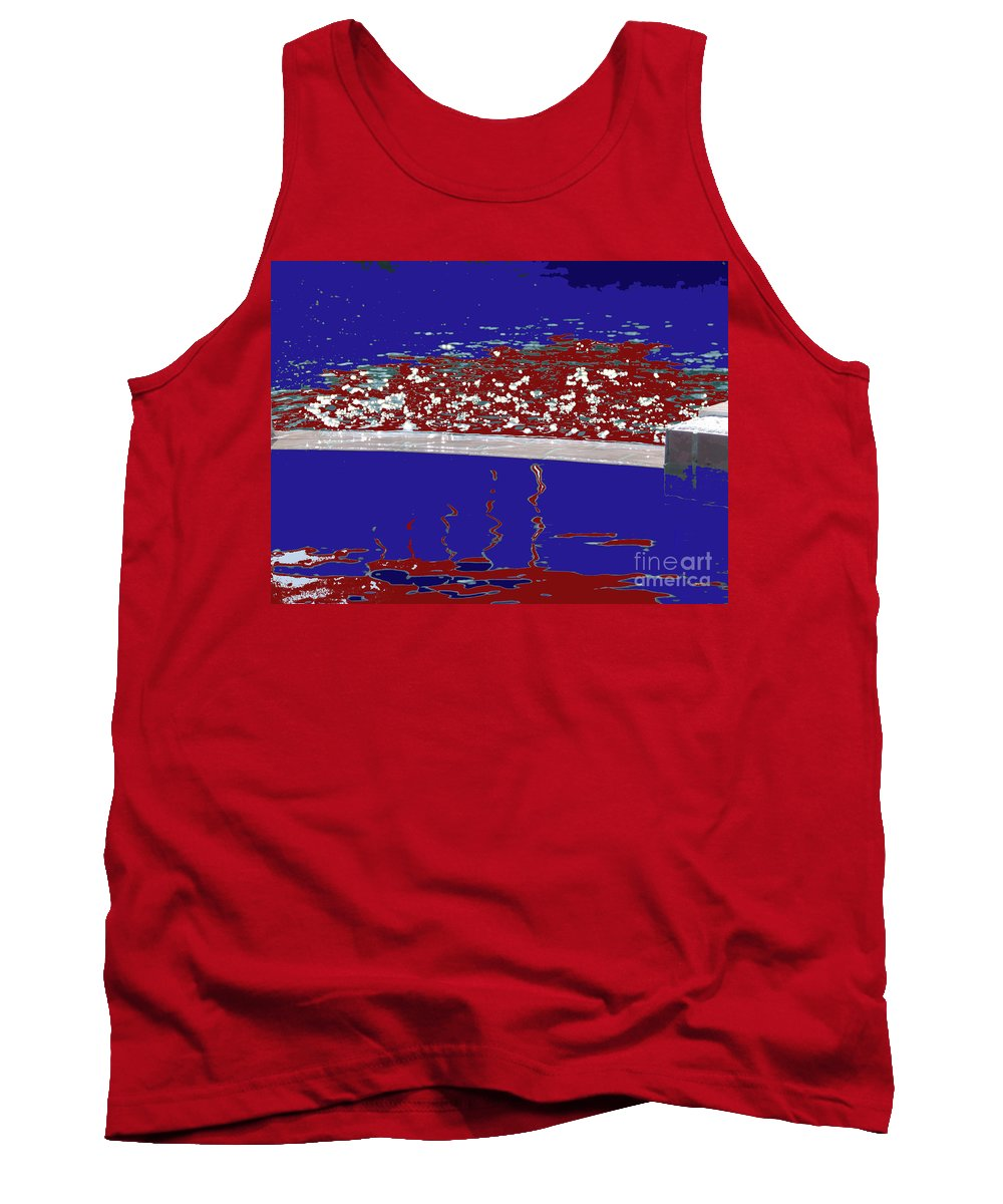 Pool Tank Top featuring the photograph Dead Pool by Alan M Thwaites