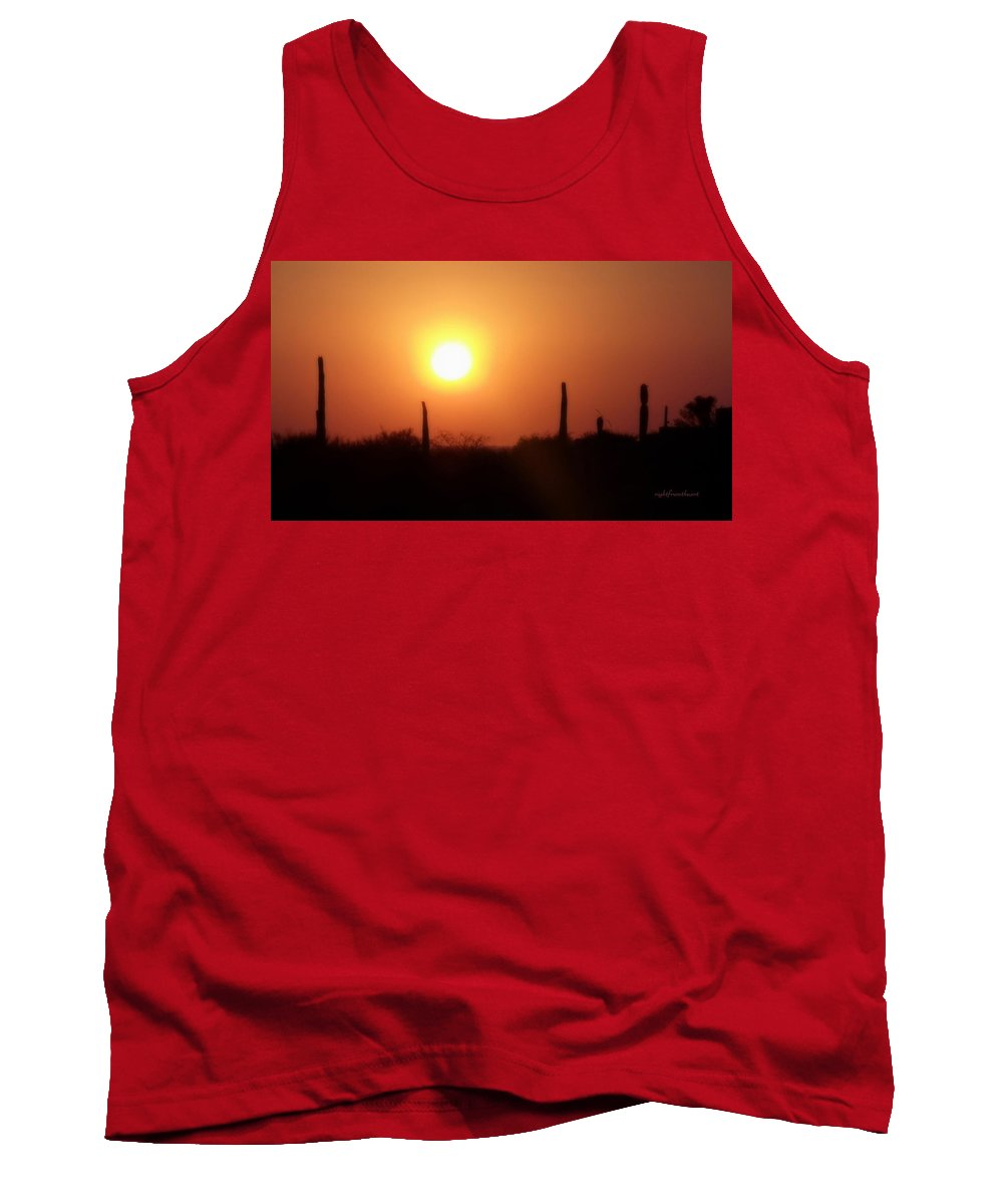 Rightfromtheart Tank Top featuring the photograph Desert by Bob and Kathy Frank