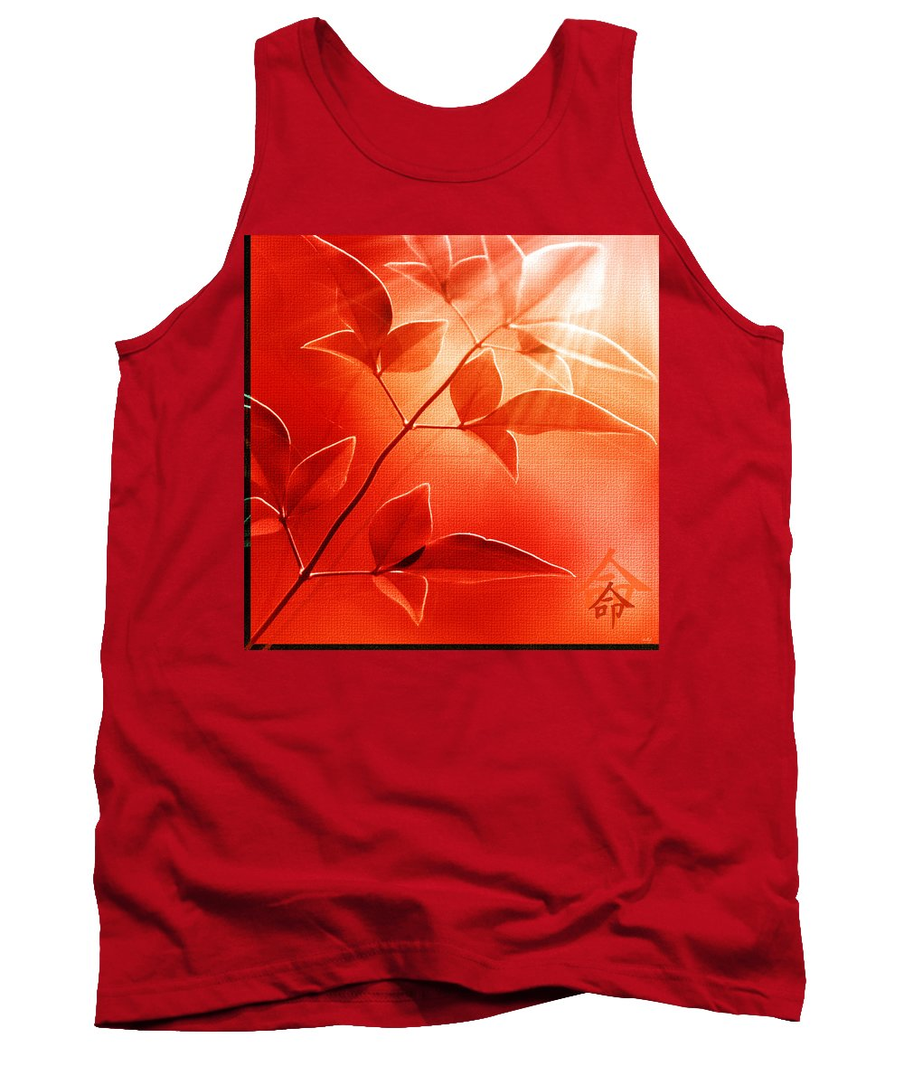Nature Tank Top featuring the photograph Destiny by Holly Kempe