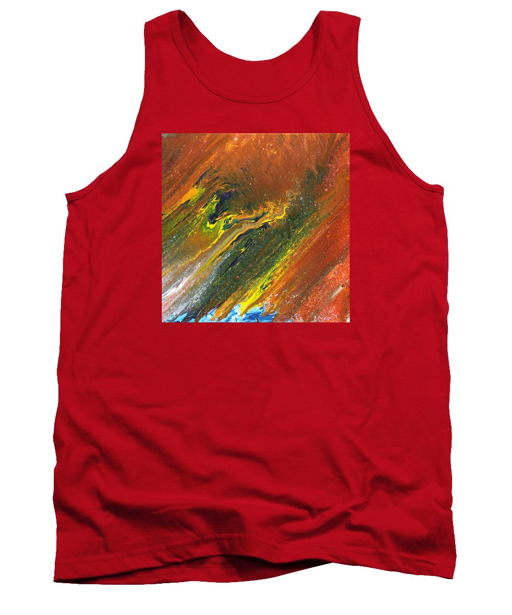 Fusionart Tank Top featuring the painting Distance by Ralph White