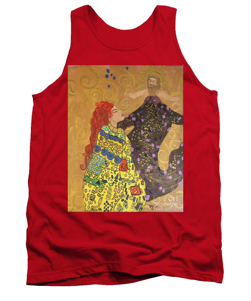 Impressionism Tank Top featuring the painting Dreams Of My Lord by Stefan Duncan