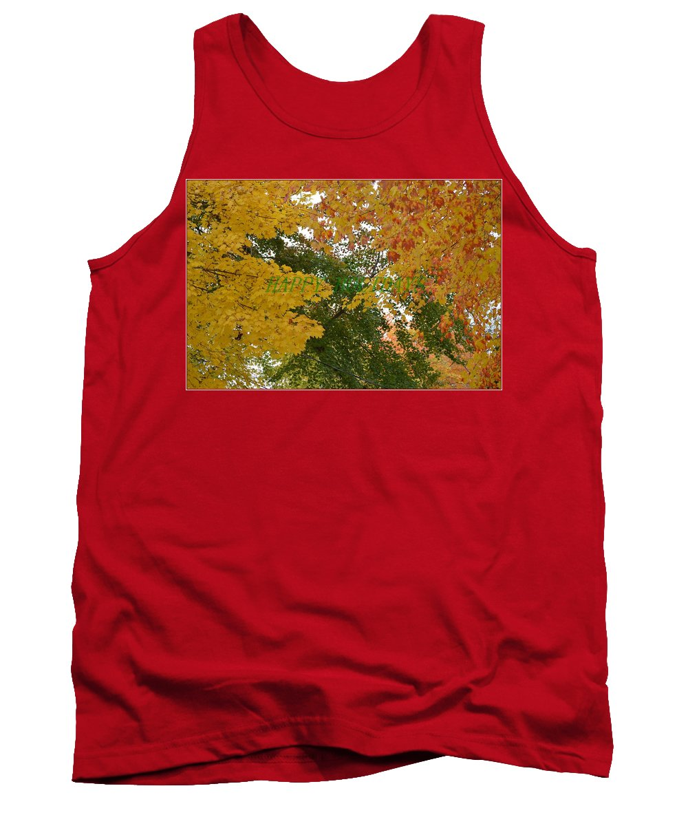 Posters Tank Top featuring the photograph Fall Canopy by Sonali Gangane