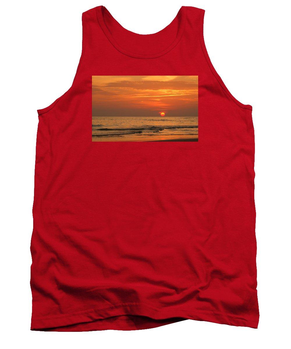 Panama City Beach Tank Top featuring the photograph Florida Sunset by Sandy Keeton