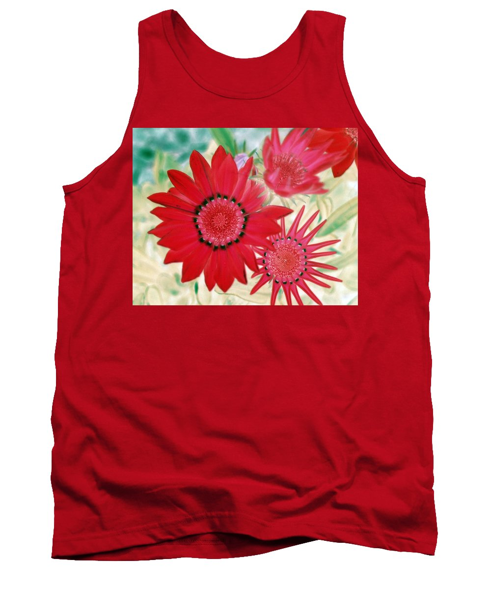 Flower Tank Top featuring the photograph Flower Power 1436 by Pamela Critchlow