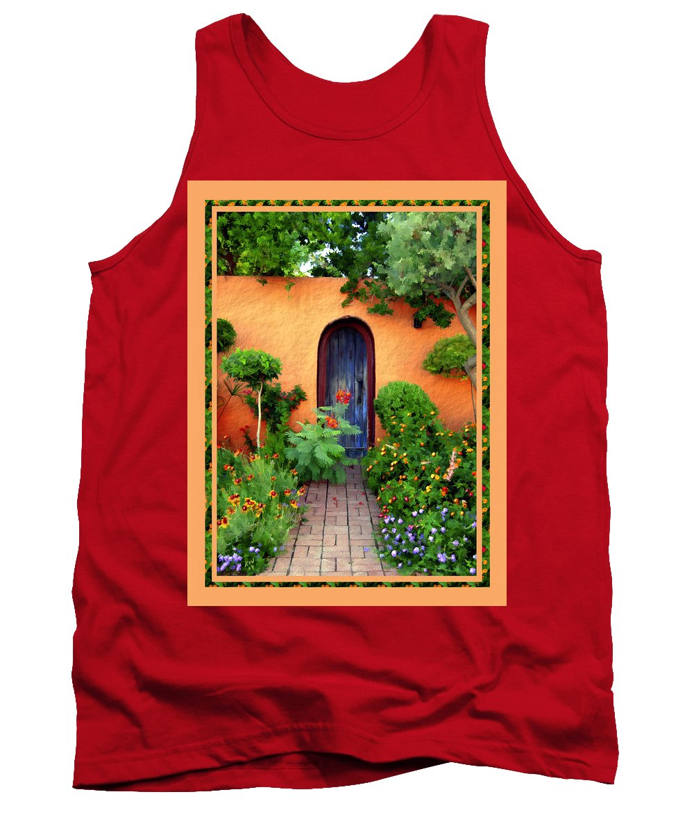 Garden Tank Top featuring the photograph Garden Delights Mesilla by Kurt Van Wagner