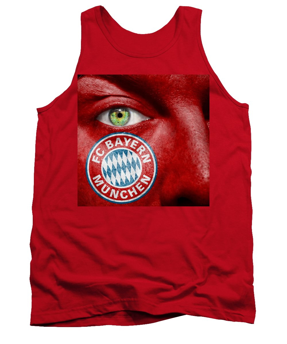 Art Tank Top featuring the photograph Go Fc Bayern Munchen by Semmick Photo