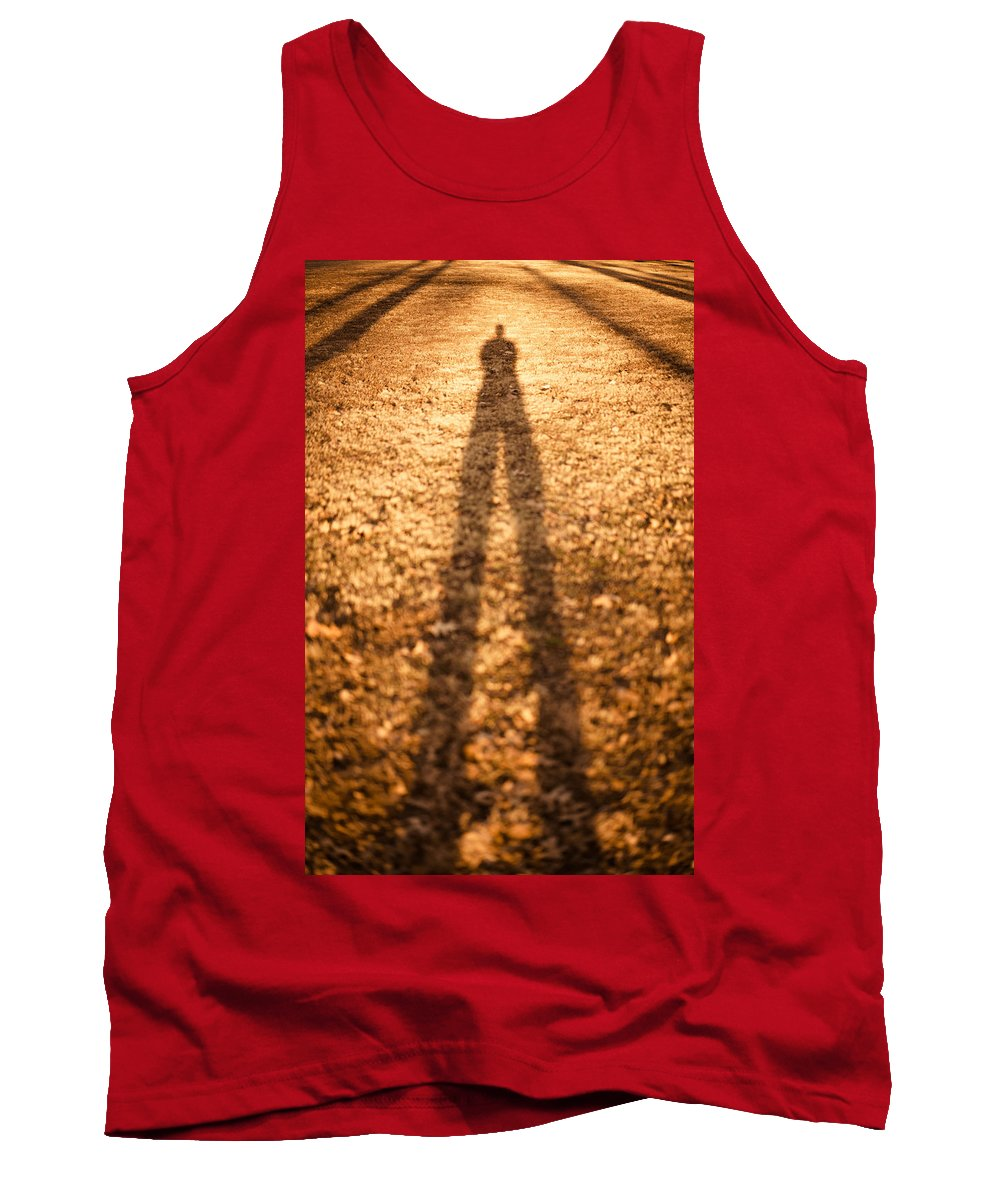 Shadow Tank Top featuring the photograph Golden Age by Scott Rackers
