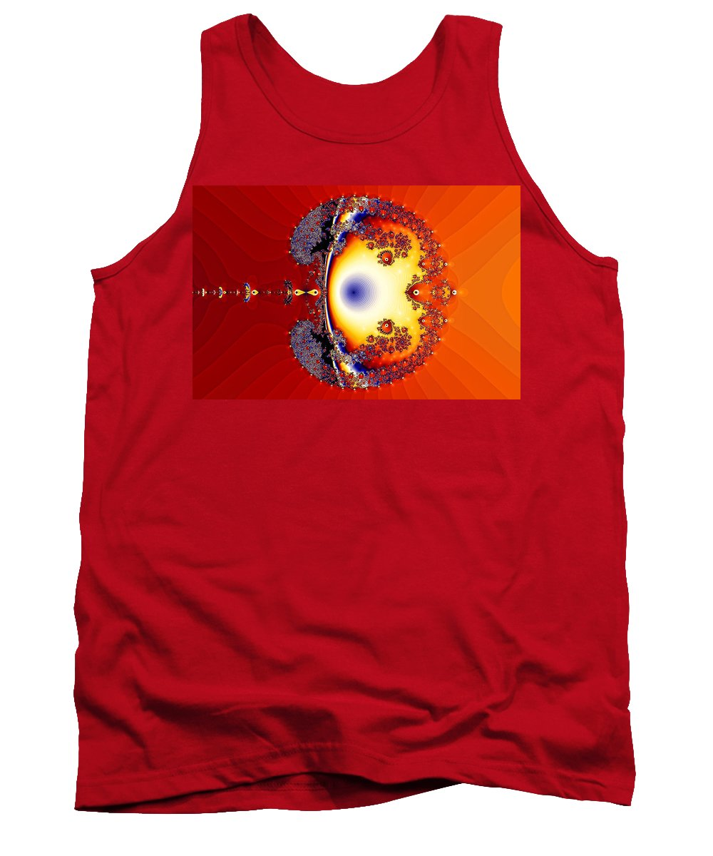 Goldfish Tank Top featuring the photograph Goldfish Bubble by Sylvia Thornton