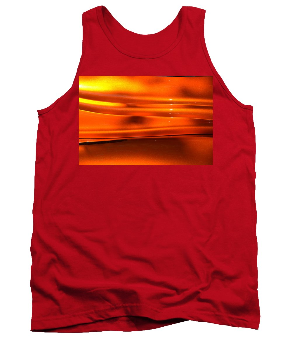 Orange Tank Top featuring the photograph Hr150 by Dean Ferreira