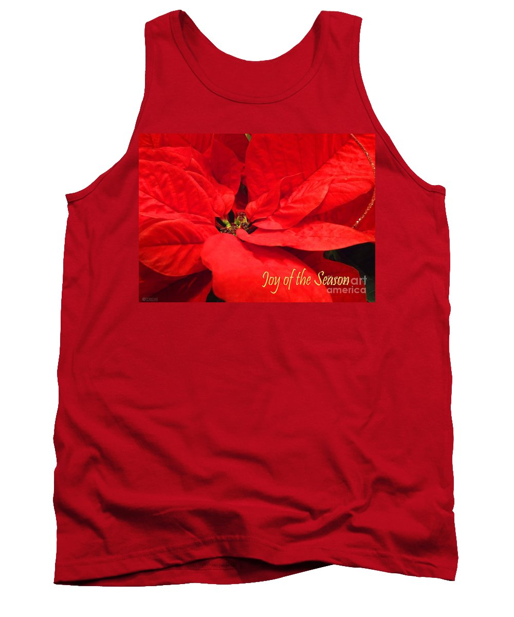 Greeting Card Tank Top featuring the photograph Joy Of The Season by Lizi Beard-Ward